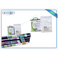 China Roll Packed / Piece Packed Nonwoven Garden Weed Control Fabric Eco Friendly 2% Or 3% UV Protection Black / White wholesale