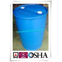China 200L HDPE Chemical Plastic Drum Storage Cabinets , HDPE Plastic Drums Barrels For Chemical Packing wholesale