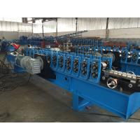 Quality Adjustable C Channel High Speed Roll Forming Machine With Hydraulic Decoiler 2 for sale