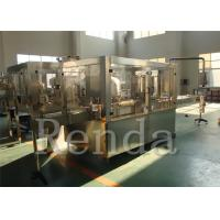China ISO Approval Aluminum Can / Tin Can Filling Machine For Carbonated Beverage wholesale