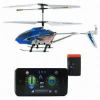 China Wi-Fi Helicopter, Can be Controlled by iPhone with RC Function wholesale