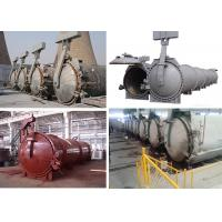 China High Temperature Steam Pressure AAC Autoclave For AAC Block Making Plant wholesale