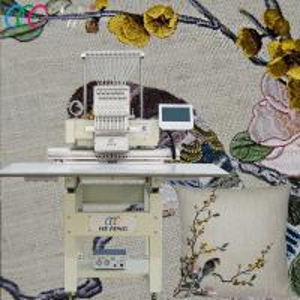 China HFIII-C1501 Single Head Big Size Flat Home Computerized Cap Embroidery Machine Factory Price on sale