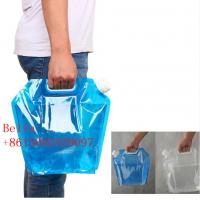 China 4L / 5L Spout Pouch Packaging High Barrier Moisture Proof With Big Cap Handle wholesale