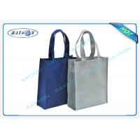 100% recycled pp non woven handle shopper shopping bag for carbage