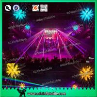 China Event Party Decoration Golden Silver 2M  Inflatable Star With LED Lighting wholesale