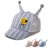 China Baby Hat Baby Boy Caps Summer Hats For Boy Infant Sun Hat With Ear Beanies Accessories  color:blue wholesale