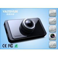 China Full HD 1080P Wide Angle In Car Camera Recorder Super Night Vision , LR - T800 wholesale