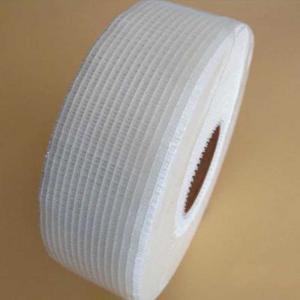 China 3 Inches Width 45m Roll Fiberglass Scrim Tape Alkali Resistance wholesale