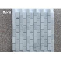 Buy cheap Polished Rectangular Decorative White carrara Mosaic Tiles For Floor/wall from wholesalers