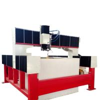 China 1500*1500mm bridge type stainless steel small waterjet cutting machine with 420Mpa pump wholesale
