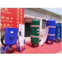 China Large Capacity Vertical Air Receiver Tank With Flange Connector Medium Pressure wholesale