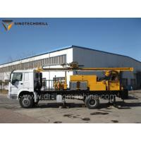 China Truck Mounted Water Well Drilling Rig TDW400C Mud - Air Dual Purpose on sale
