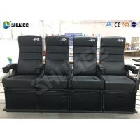 Quality 2DOF 4D Cinema Equipment For Update 3D Theater 50-150 Seats To Attract More for sale