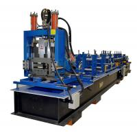 China Steel Frame C Z Purlin Roll Forming Machine With 11.5kw Motor And Automatical Cutting Devices wholesale