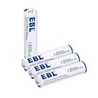 Buy cheap Advanced AAA Lithium Ion Batteries 1200mah 1.5v High Capacity Long Lasting from wholesalers