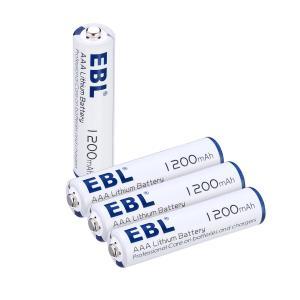 China Advanced AAA Lithium Ion Batteries 1200mah 1.5v High Capacity Long Lasting wholesale