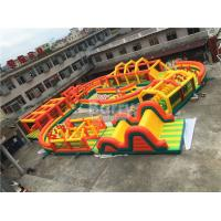 China Giant Inflatable Obstacle Course wholesale