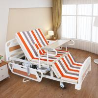 China Medical Equipments Electric Nursing Bed With Jiecang Motor Punching Bed Board wholesale