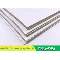 China One side coated Duplex Paper Board with grey back 300g 700 * 1000mm wholesale