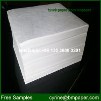 China BMPAPER Top Quality Papier Tyvek Using Liquid Blocking wholesale