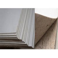 China Environmently Book Cover Strawboard Paper 2.03mm /1300g with Full Side Grey wholesale