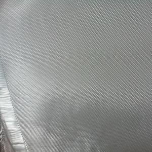 China White color twill woven fiberglass clothes for insulation or composite material wholesale