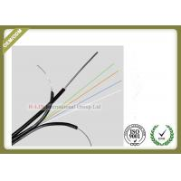 China GJYXFCH 4core Single Mode Outdoor Fiber Optic Cable with FRP messenger wire wholesale