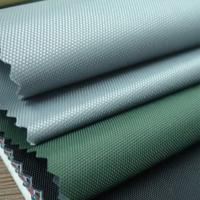 China 300D solution dyed fade resistant cover oxford fabric on sale