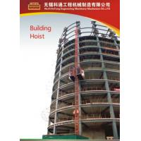 China Painted / Hot Dipped Zinc Construction Material Hoists For Electric Power Plants wholesale