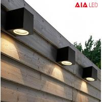 China Waterproof square 3W IP65 LED wall lights for garden wall and outdoor wall wholesale