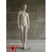 China Jolly mannequins-Luxury abstract head standing male mannequin -Bieber104 on sale