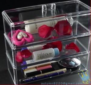 China clear makeup drawer organizer wholesale