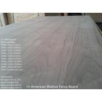 Quality American Walnut Fancy Plywood 1220 x 2440mm for sale