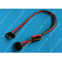 Buy cheap 22 Pin SATA Extension Cable with Converter 5V to 3.3V For Power from wholesalers