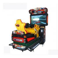 China 3D Dynamic HD Racing Game Machines L1560*W26004H2400mm For One Player wholesale