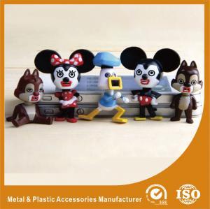 China PVC Cartoon Vinyl Collection Plastic Toy Figures Multicolor Finishing Mini Design wholesale