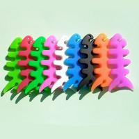 Quality High quality with low price 100% silicone wire cable winder promotional gifts for sale