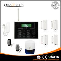 China GSM LCD Touch Keypad Diy Home Alarm Systems Support the Door Bell on sale