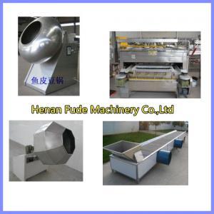 China peanut coating machine, flour coated peanut machine wholesale