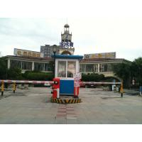 China Outdoor Park Aluminum Alloy Security Guard Booths , Noise Protection wholesale