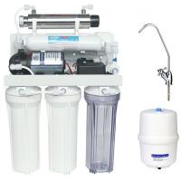 China Portable Reverse Osmosis Water Filtration System with 6W Ultraviolet sterilizer wholesale