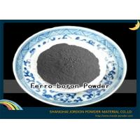 China 180 Micron Black Ferro Boron Powder Metallurgy Materials For Electrode wholesale