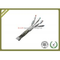 Quality Indoor Cat6A SFTP Cable Bare Copper With Drain Wire For Data Video Signal for sale