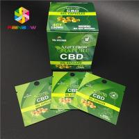 Quality Child Proof Plastic Pouches Packaging Resealable Ziplock Mylar Bag CBD Hemp Weed for sale