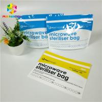 China Silicone Snack Food Packaging Bags Reusable Leakproof Foodsaver For Heating / Freezing wholesale