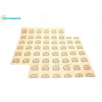 """China Sandwich Greaseproof Paper Food Wrap Basket Liner 12"""" X 12"""" Logo Printing wholesale"""
