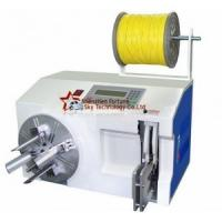 China Automatic Wire Cable Coiling Cum Tying Machine Electric Wire Winding Machine Wire Strapping Machine wholesale