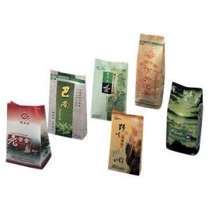 China Organic Tea packaging bags, aluminum foil , Gravure Printing, tea pouches wholesale