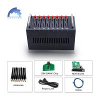China 8 Port 3G WCDMA bulk sms Modem For Free Bulk Sms Sending And Receiving on sale
